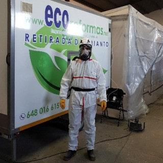 Protección contra amianto