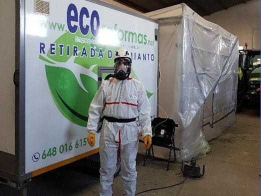 Descontaminación y retirada de amianto